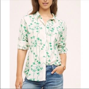 Anthro Holding Horses Embroidered Vine Top 6
